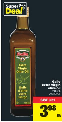 Gallo Extra Virgin Olive Oil - 750 mL