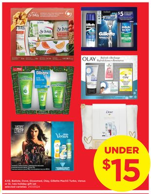 Axe - Batiste - Dove - Glysomed - Olay - Gillette Mach3 Turbo - Venus Or St. Ives Holiday Gift Set