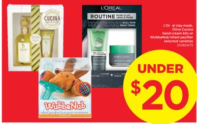 L'oréal Clay Mask - Olive Cucina Hand Cream Kits Or Wubbanub Infant Pacifier