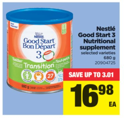 Nestlé Good Start 3 Nutritional Supplement - 680 g