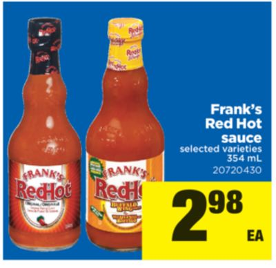Frank's Red Hot Sauce - 354 mL