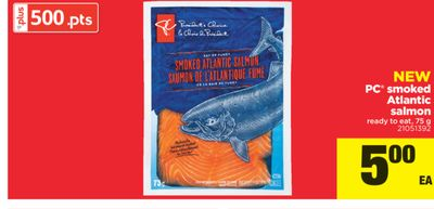 PC Smoked Atlantic Salmon - 75 g