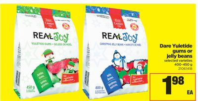 Dare Yuletide Gums Or Jelly Beans - 400-450 g