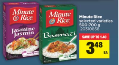 Minute Rice - 500-700 g