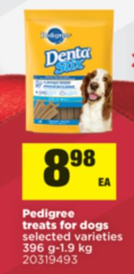 Pedigree Treats For Dogs - 396 G-1.9 Kg
