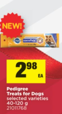 Pedigree Treats For Dogs - 40-120 g