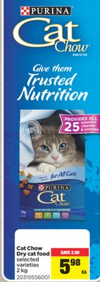Cat Chow Dry Cat Food - 2 Kg