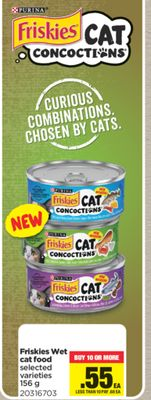 Friskies Wet Cat Food - 156 g