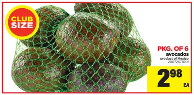 Avocados - Pkg Of 6