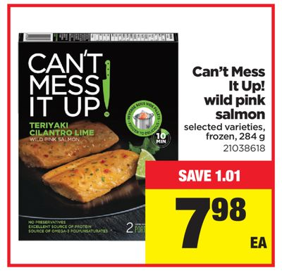 Can't Mess It Up! Wild Pink Salmon - 284 G