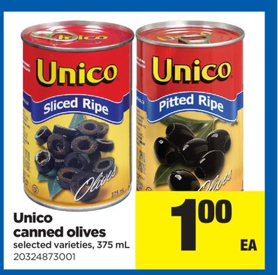 Unico Canned Olives - 375 mL