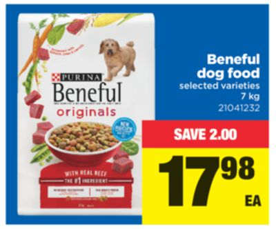Beneful Dog Food - 7 Kg