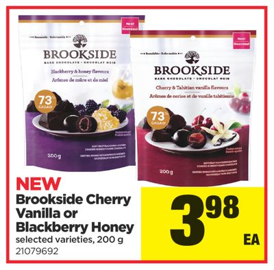 Brookside Cherry Vanilla Or Blackberry Honey - 200 g