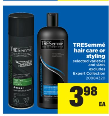 tresemme hair style videos tresemm 233 hair care or styling on salewhale ca 5022 | tresemme hair care