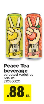 Peace Tea Beverage - 695 mL