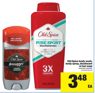 Old Spice Body Wash - Body Spray - Deodorant Or Bar Soap