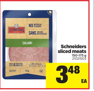 Schneiders Sliced Meats - 150-175 g
