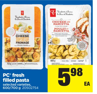 PC Fresh Filled Pasta - 600/700 g