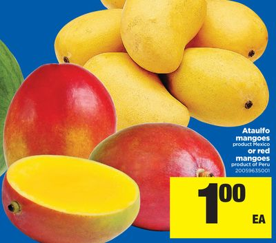 Ataulfo Mangoes Or Red Mangoes
