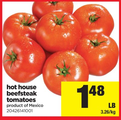 Hot House Beefsteak Tomatoes