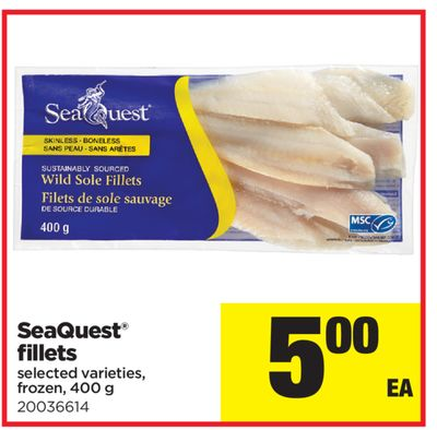 Seaquest Fillets - 400 g