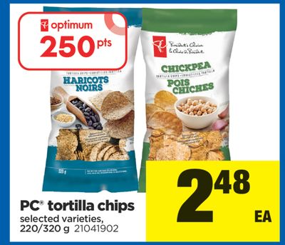 PC Tortilla Chips - 220/320 g