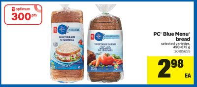PC Blue Menu Bread - 450-675 g