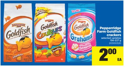 Pepperridge Farm Goldfish Crackers - 156-227 g