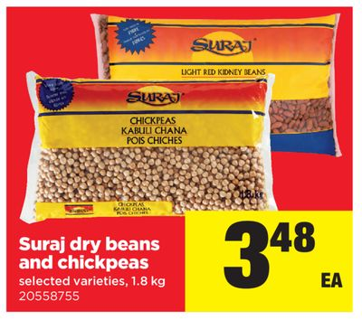 Suraj Dry Beans And Chickpeas - 1.8 Kg