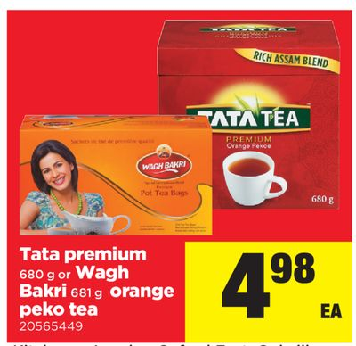Tata Premium - 680 g or Wagh Bakri - 681 g - Orange Peko Tea