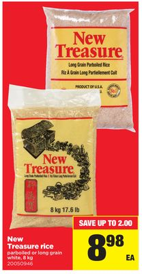 New Treasure Rice - 8 Kg
