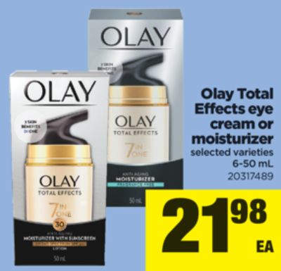 Olay Total Effects Eye Cream Or Moisturizer - 6-50 mL