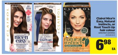 Clairol Nice'n Easy - Natural Instincts - Or Root Touch Up Hair Colour