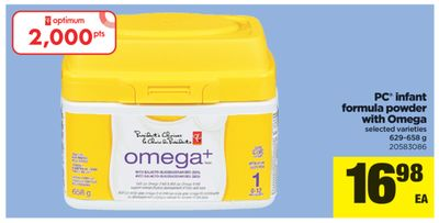 PC Infant Formula Powder With Omega - 629-658 g