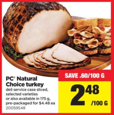 PC Natural Choice Turkey