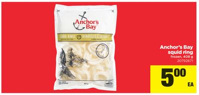 Anchor's Bay Squid Ring - 408 g