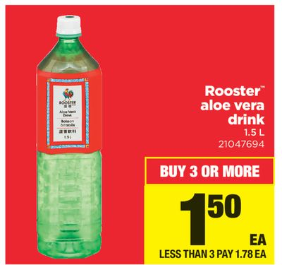 Rooster Aloe Vera Drink - 1.5 L