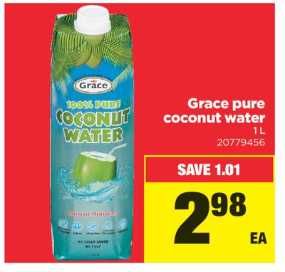 Grace Pure Coconut Water - 1 L