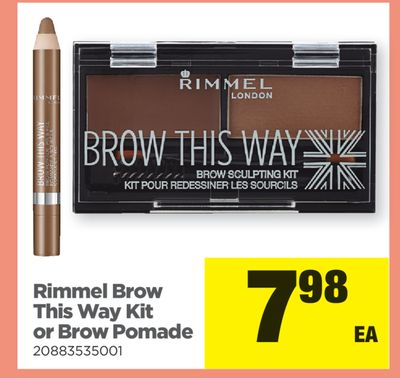 Rimmel Brow This Way Kit Or Brow Pomade