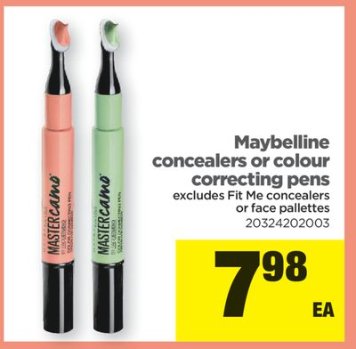 Maybelline Concealers Or Colour Correcting Pens