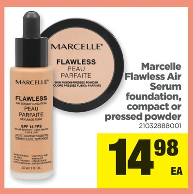 Marcelle Flawless Air Serum Foundation - Compact Or Pressed Powder