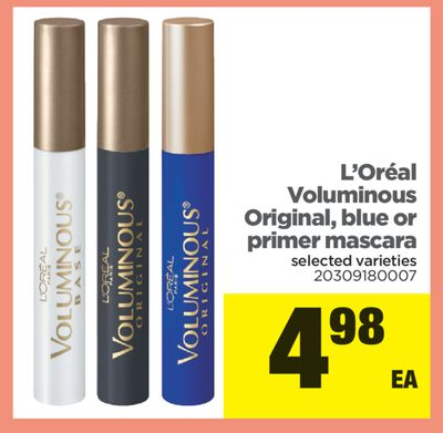 L'oréal Voluminous Original - Blue Or Primer Mascara