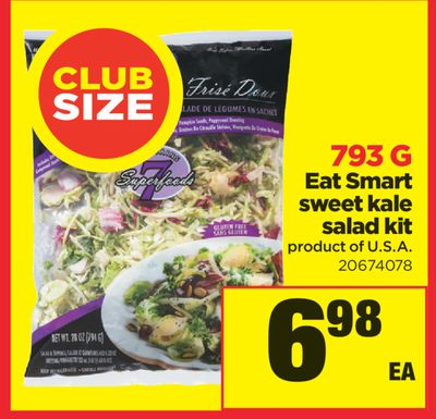 Eat Smart Sweet Kale Salad Kit - 793 G