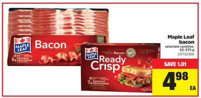 Maple Leaf Bacon - 65-375 g