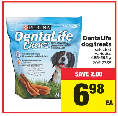 Dentalife Dog Treats - 485-595 g
