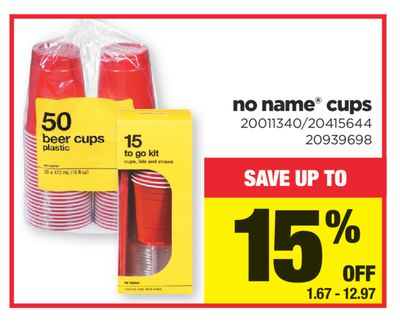 No Name Cups