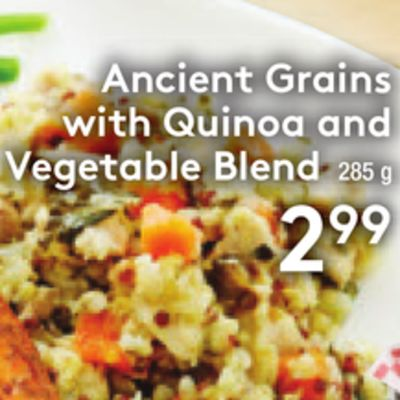 Ancient Grains With Quinoa and Vegetable Blend