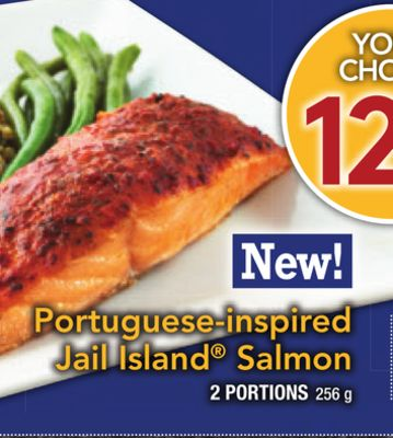Portuguese-inspired Jail Island Salmon
