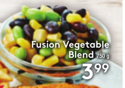 Fusion Vegetable Blend