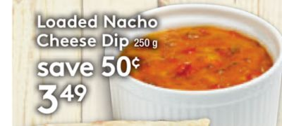 Loaded Nacho Cheese Dip